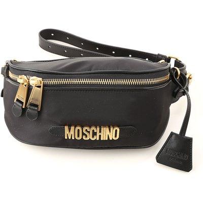 MOSCHINO Moschino Umhängetasche für Damen Günstig im Sale, Schwarz, Leder, 2017