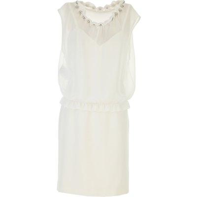 MOSCHINO Moschino Kleid für Damen Günstig im Sale, Weiss, Polyester, 2017, 38 40 44