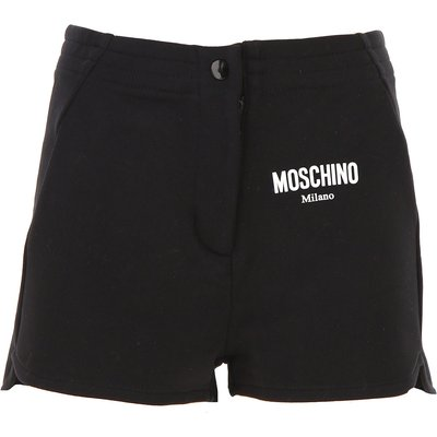MOSCHINO Moschino Short für Damen Günstig im Sale, Schwarz, Baumwolle, 2017, 38 40 42 44