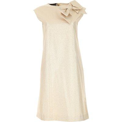 MOSCHINO Moschino Kleid für Damen Günstig im Sale, Goldfarben, Poyiester, 2017, 40 44