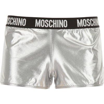 MOSCHINO Moschino Short für Damen Günstig im Sale, Silber, Poliamyd, 2017, 38 40 44