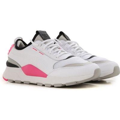 PUMA Puma Sneaker für Damen, Tennisschuh, Turnschuh Günstig im Outlet Sale, Weiss, Leder, 2017, US 4 5 - UK 3 5 - EU 36 - JP 22 5 US 7 - UK 6.5 - EU 40