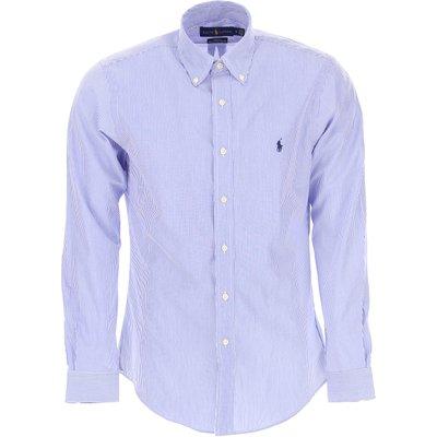 Ralph Lauren Hemde  Oberhemd, Blau, Baumwolle
