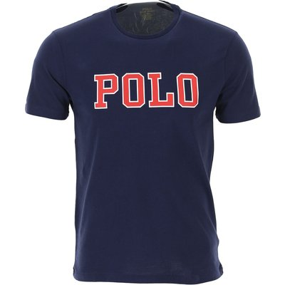Ralph Lauren T-Shirts  T'Shirts, Marine blau, Baumwolle