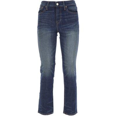 RALPH LAUREN Ralph Lauren Jeans, Bluejeans, Denim Jeans für Damen Günstig im Sale, Dunkelblau, Baumwolle, 2017, 39 40 41 42 42 46