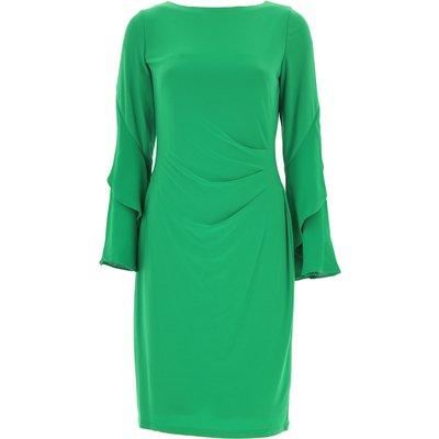 RALPH LAUREN Ralph Lauren Kleid für Damen Günstig im Sale, Grün, Polyester, 2017, 44 M
