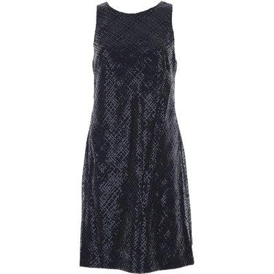 RALPH LAUREN Ralph Lauren Kleid für Damen Günstig im Sale, Marine blau, Polyester, 2017, 44 M