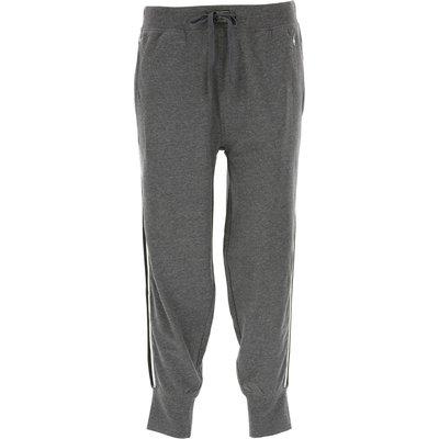 Ralph Lauren Pyjama, Grau, Baumwolle