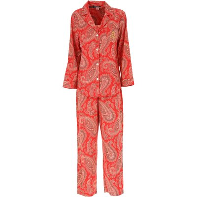 Ralph Lauren Pyjama, Rot, Baumwolle