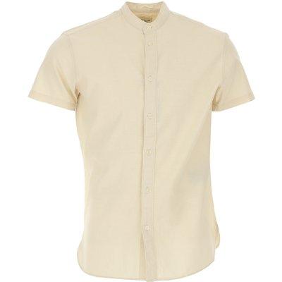 Selected Hemde  Oberhemd, Austerngrau, Baumwolle