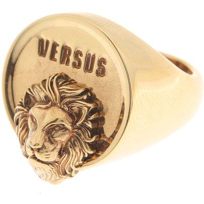 VERSACE Versace Ring für Herren Günstig im Sale, Antik-Gold, Messing, 2017, 21 23 S
