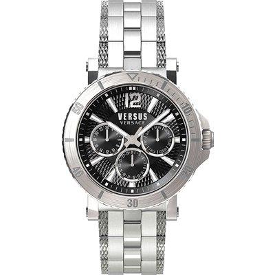VERSACE Versace Uhr für Herren, Chronometer, Zeitmesser Günstig im Sale, Silber, Rostfreier Stahl, 2017