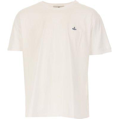 VIVIENNE WESTWOOD Vivienne Westwood T-Shirts für Herren, T'Shirts Günstig im Sale, Weiss, Baumwolle, 2017, L M S XS