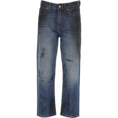 VIVIENNE WESTWOOD Vivienne Westwood Jeans, Bluejeans, Denim Jeans für Damen Günstig im Sale, Denim Blau, Denim Gewebe, 2017, 40 42 44