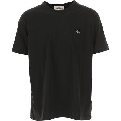 VIVIENNE WESTWOOD Vivienne Westwood T-Shirts für Herren, T'Shirts Günstig im Sale, Schwarz, Baumwolle, 2017, L S XL XS
