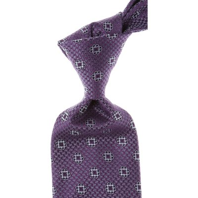 ERMENEGILDO ZEGNA Ermenegildo Zegna Krawatten Günstig im Sale, Violett, Seide, 2017
