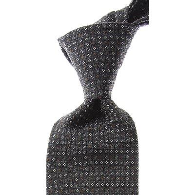 ERMENEGILDO ZEGNA Ermenegildo Zegna Krawatten Günstig im Sale, Aschgrau, Seide, 2017