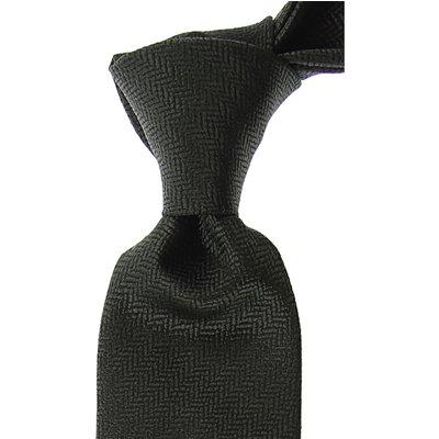 Ermenegildo Zegna Krawatten, Militär Grün, Seide