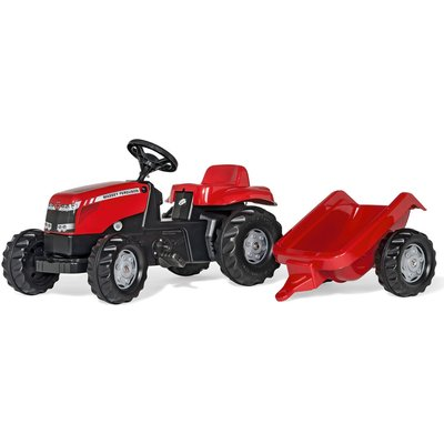 Massey Ferguson Kids Tractor and Trailer