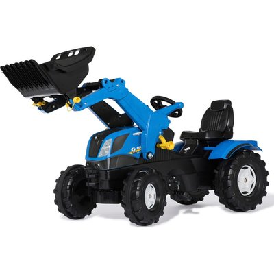 New Holland T7 Kids Tractor with Front Loader