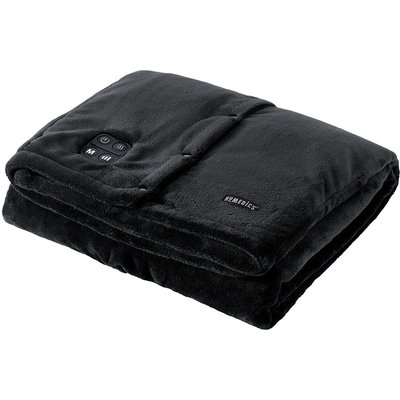 HoMedics HCMTRW210 Comfort Max Deluxe Cordless Heated Throw - Black