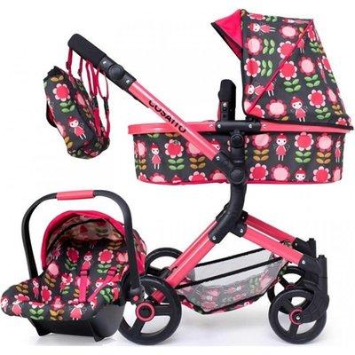 Cosatto Wonder Dolls Pram   Carseat   Fairy Garden - 4003336411553