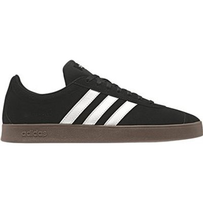 adidas VL Court 2.0 Trainers - Mens - Black/White/Gum5