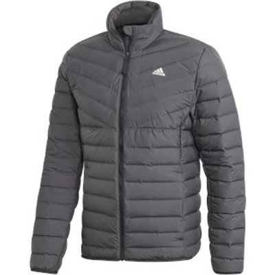 adidas Varilite 3-Stripes Down Jacket - Mens - Carbon
