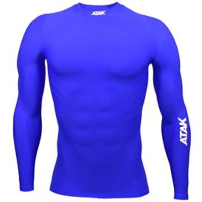 Atak Compression Recovery Long Sleeve Top - Adult - Royal