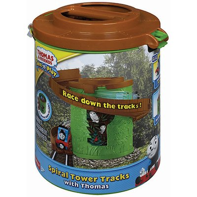 Thomas and Friends Take-n-Play Portable Railway Spiral Tower Tracks with Thomas