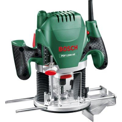 "Bosch POF 1200AE 1/4"" Plunge Router 240v"