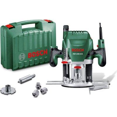 """Bosch POF 1400ACE 1/4"""" Plunge Router 240v"""