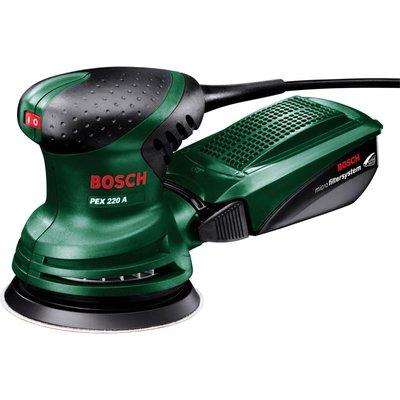 Bosch PEX 220 A Orbital Disc Sander 125mm 240v