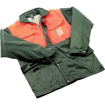Draper Expert Chainsaw Jacket Green / Orange M