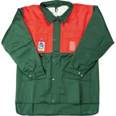 Draper Expert Chainsaw Jacket Green / Orange L