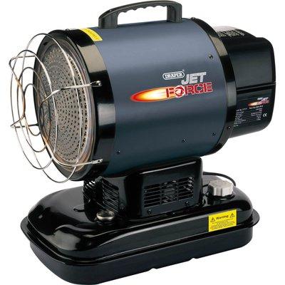 Draper Jet Force DSH IR B Infrared Diesel Kerosene Space Heater 240v - 5010559171118