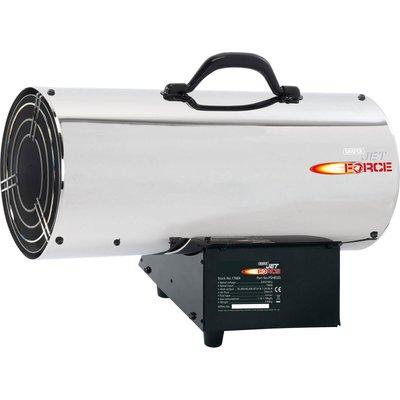 Draper Jet Force PSH85SS Stainless Steel Propane Space Heater 240v - 5010559176847