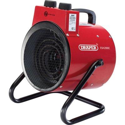 Draper ESH2000C 2Kw Space Heater 240v - 5010559177752
