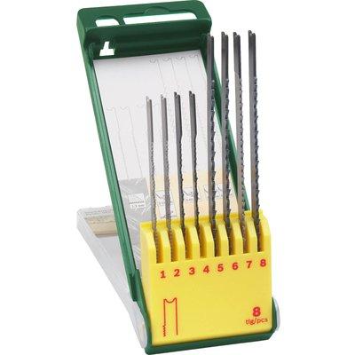 Bosch 8 Piece Wood and Metal Cutting U Shank Jigsaw Blade Set