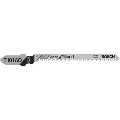 Bosch T101 AO Wood Cutting Jigsaw Blades Pack of 5