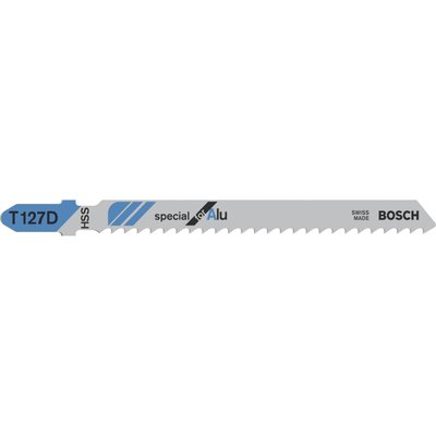 Bosch T127 D Aluminium Cutting Jigsaw Blades Pack of 5