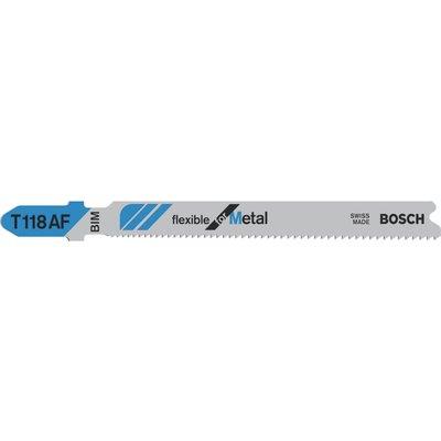 Bosch T118 AF Metal Cutting Jigsaw Blades Pack of 5