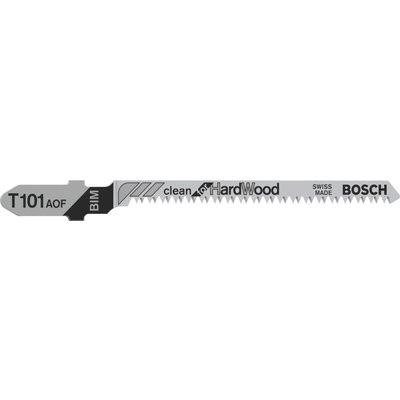 Bosch T101 AOF Hard Wood Cutting Jigsaw Blades Pack of 5