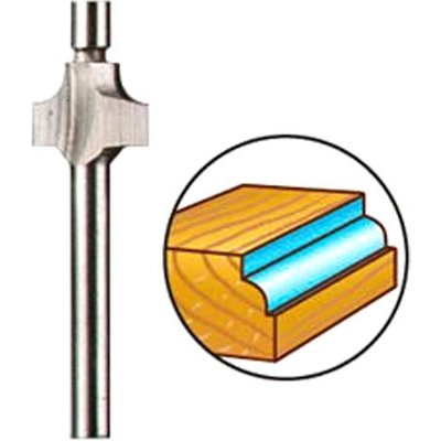 Dremel 612 Piloted Beading Router Bit 2.8mm Pack of 1