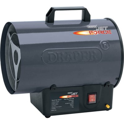 5010559322176 | Draper Stainless Steel Propane Gas Space Heater 34000btu 240v