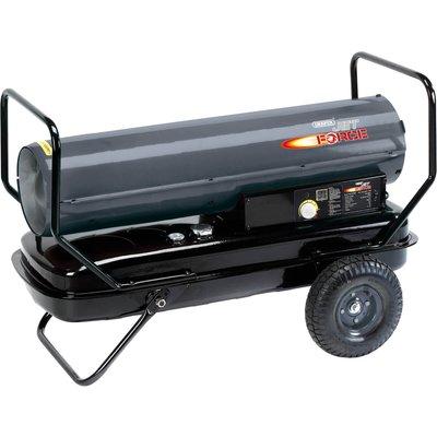 Draper Diesel   Paraffin Space Heater with Wheels 175000btu 240v 5010559322848