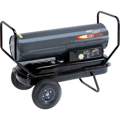 Draper Diesel   Paraffin Space Heater with Wheels 125000btu 240v - 5010559322855