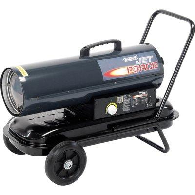 Draper DSH751 Diesel   Paraffin Space Heater on Wheels 75000btu 240v - 5010559539260