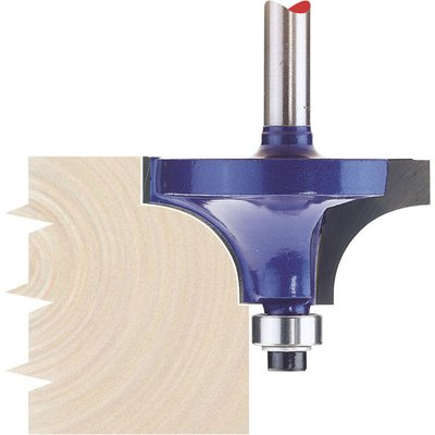 """Draper Bearing Guided Beading Router Cutter 38mm 20mm 1/4"""""""