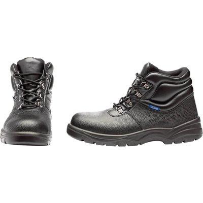 Draper Mens Chukka Style Safety Boots Black
